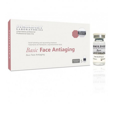 FACE ANTIAGING Basico Caja 5 vial MEDICO-COSMETICO, Simildiet